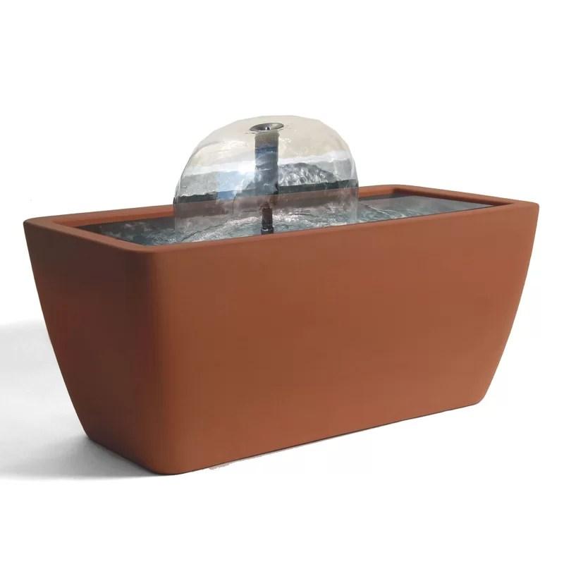 Manhattan Acrylic Pond Kit Color: Terracotta