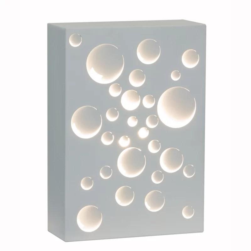 Decorative 11.75 Metal Rectangular Wall Sconce Shade