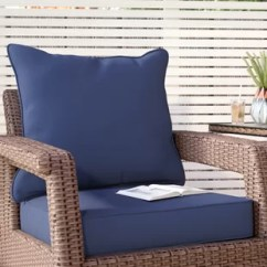 Chair Cushions Outdoor Office Swivel Chairs With Arms Patio Furniture You Ll Love Wayfair Quickview