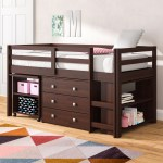 Viv Rae Senger Twin Low Loft Bed With Bookcase And Drawers Reviews Wayfair
