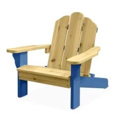 Childrens Adirondack Chair Plastic Director Covers Black Kids Wayfair Garett