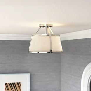 semi flush mount lighting joss main