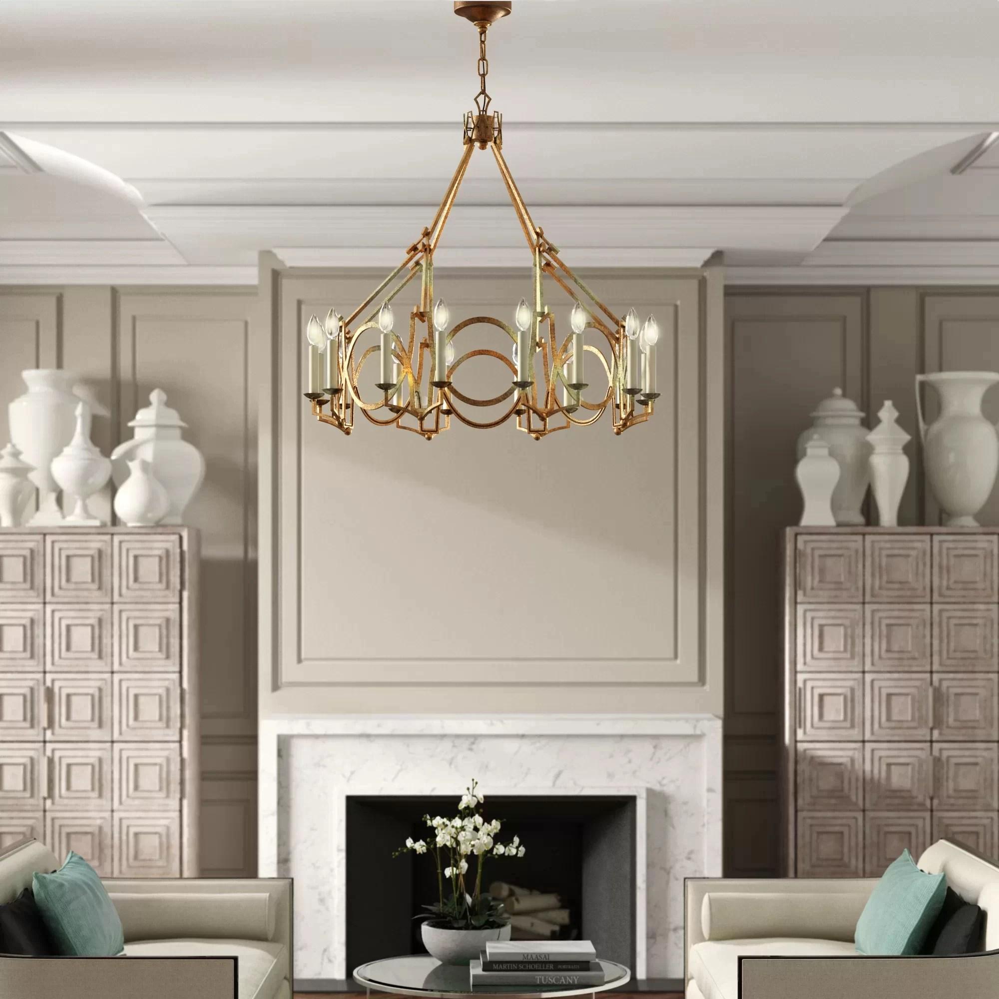 niermann weeks visual comfort 16 light chandelier
