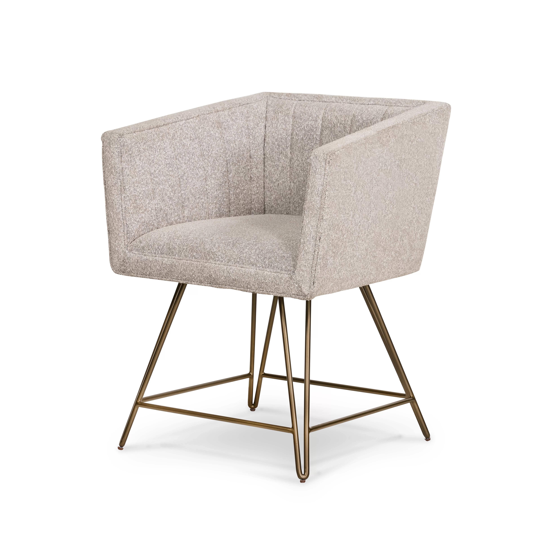 union rustic rosaline tufted upholstered arm chair in elder sable wayfair