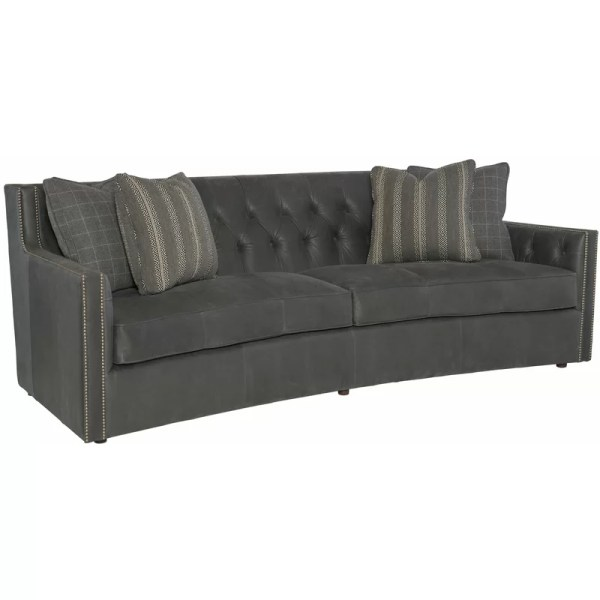 Bernhardt Candace Leather Sofa Perigold Year Of Clean Water