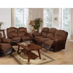 Living Room Set Leather Mirrors In Wall Sets You Ll Love Wayfair Ingaret Reclining