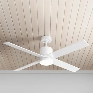52 harlingen 4 blade ceiling fan with remote light kit included