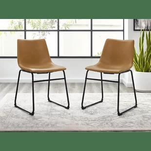industrial dining chair shower cvs chairs joss main quickview