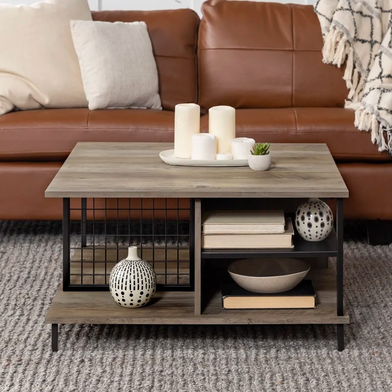 karah coffee table with storage