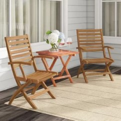 Brown Wooden Folding Chairs Indoor Outdoor Patio Dining You Ll Love Wayfair Pine Hills Chair Set Of 2