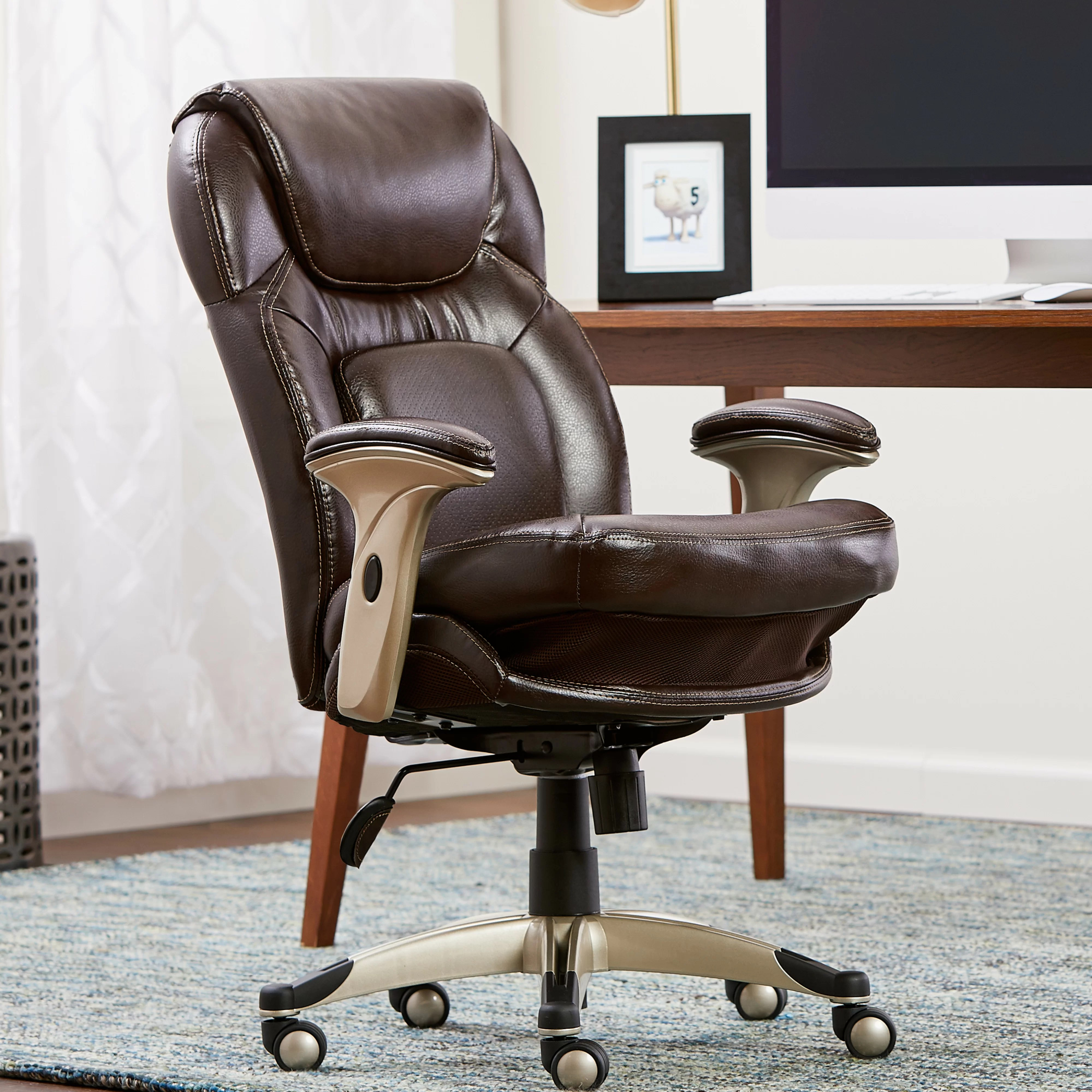 serta office chair 10 year warranty claw foot at home back in motion health and wellness mid desk reviews wayfair