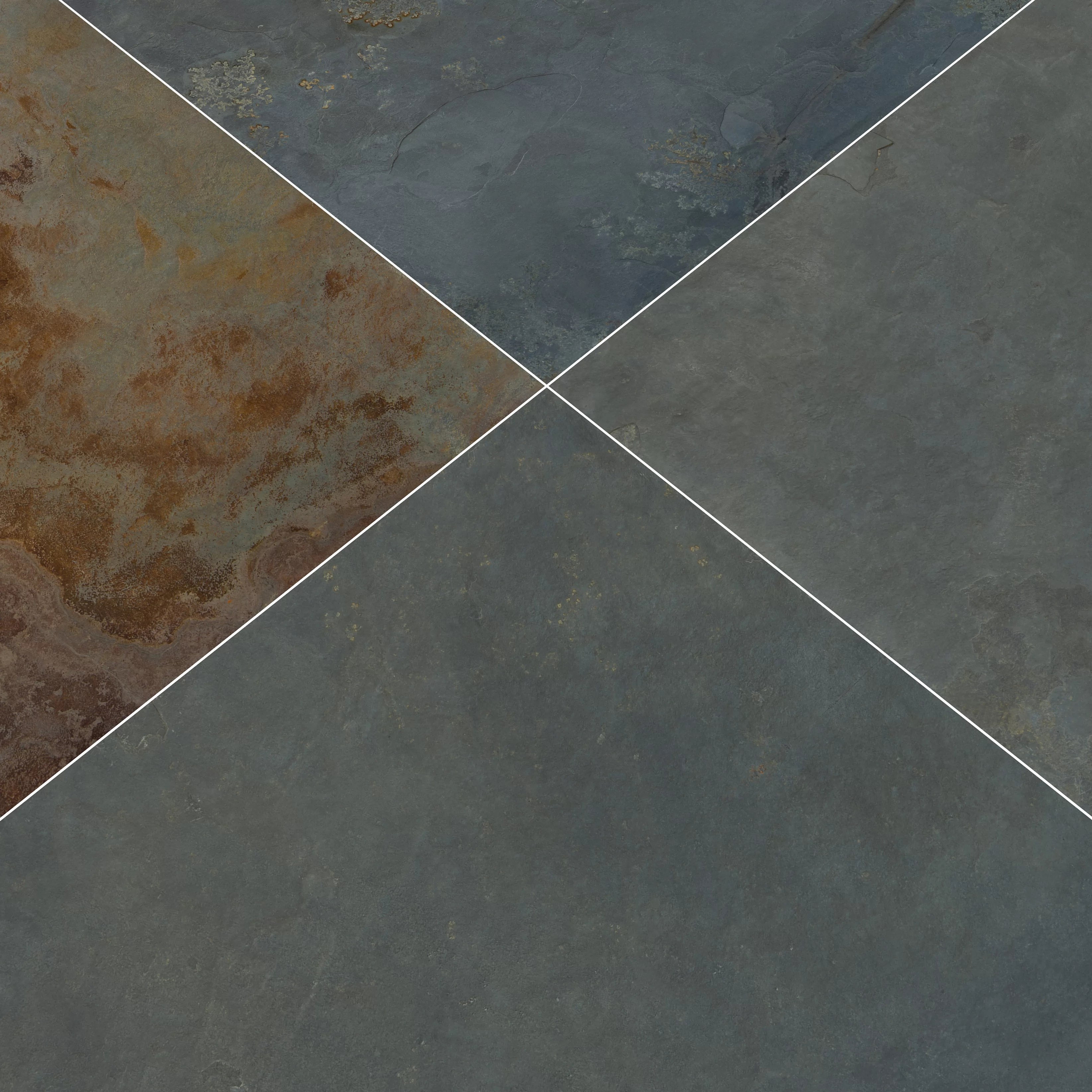 gauged 12 x 24 slate field tile