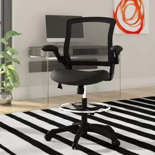 drafting chairs with arms safety first portable high chair you ll love wayfair quickview
