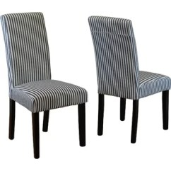 Black Parsons Chair Baby Shower Decorations With Legs Wayfair Lemelle Set Of 2