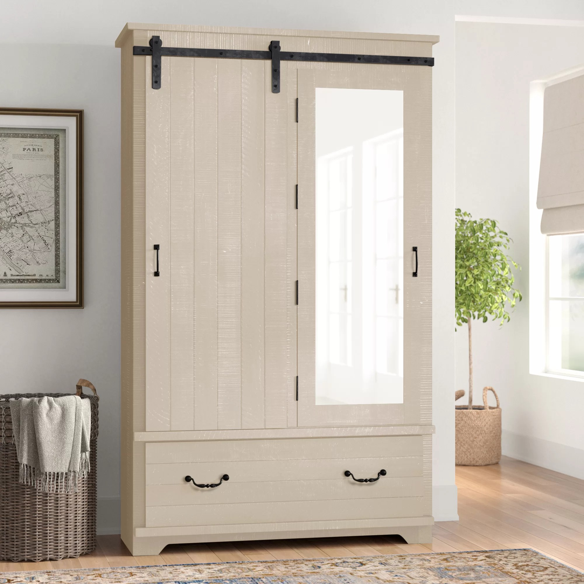white armoires wardrobes you ll love
