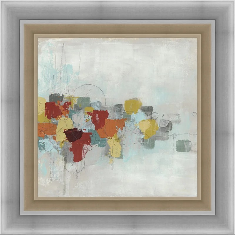 Trends Projection II Framed Painting Print