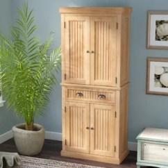 Kitchen Freestanding Pantry Pre Built Outdoor Islands Cabinets You Ll Love Wayfair Rabin 72