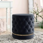 Black Vanity Accent Stools Chairs You Ll Love In 2021 Wayfair
