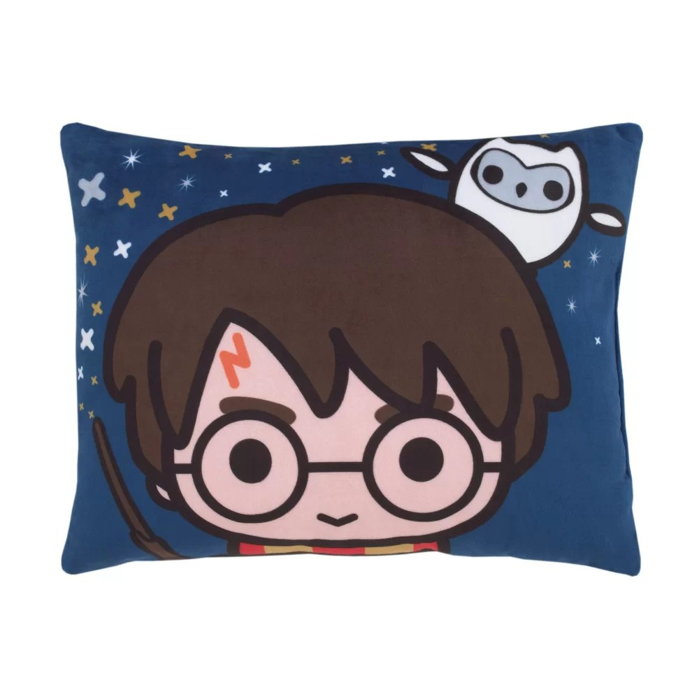 harry potter wizards in training decorative toddler pillow