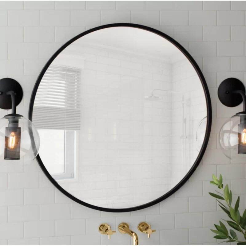 Hub Modern And Contemporary Bathroom Vanity Mirror Reviews Allmodern