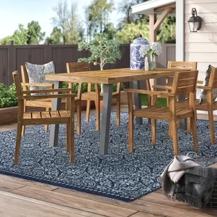 union rustic patio dining sets you ll