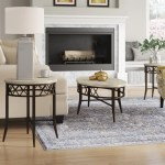 Charlton Home Bedfordshire 3 Piece Coffee Table Set Reviews