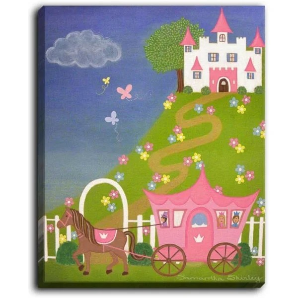 Ever After by Jessilyn Park Painting Print on Wrapped Canvas Size: 40 H x 30 W x 1.5 D
