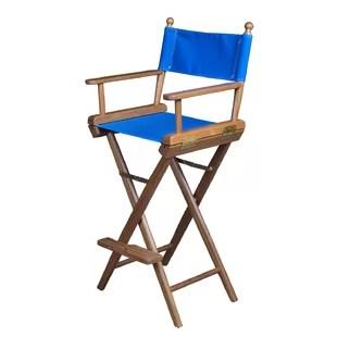 folding chair with cushion bacharach swivel jonathan adler chairs wayfair captain s director