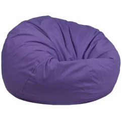 Blue Bean Bag Chairs Accent For Dining Room Purple You Ll Love Wayfair Quickview