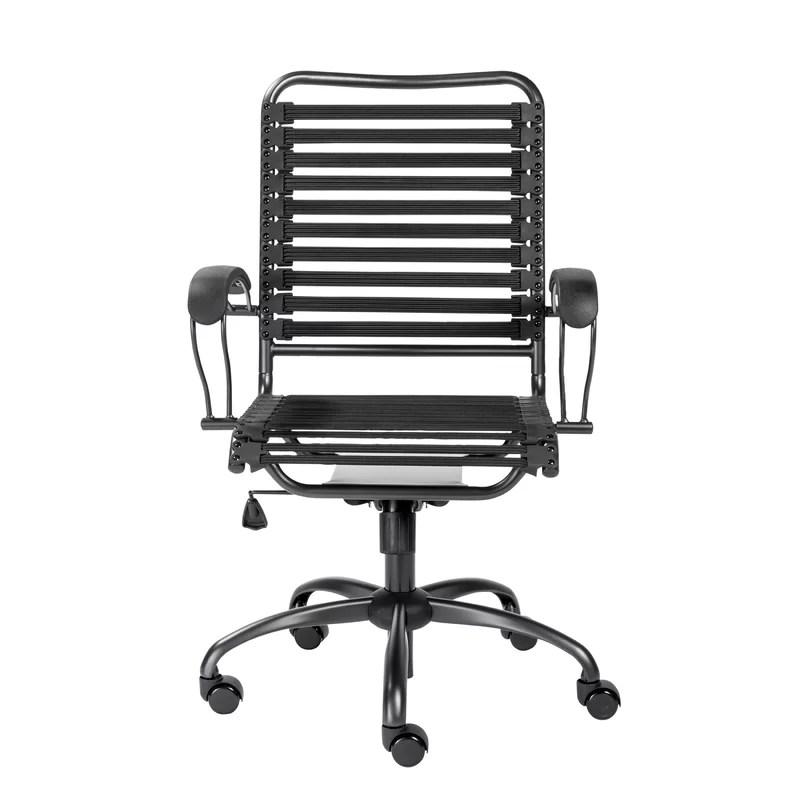desk chair high fishing back orren ellis amico bungee wayfair