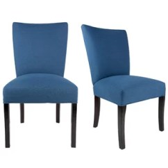 Navy Blue Accent Chairs Reclining Shower Chair Multi Colored Wayfair Knowlson Upholstered Parsons In Set Of 2