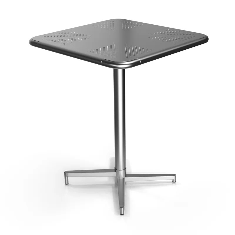 Fly Dining Table Color: Silver