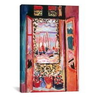 'Open Window at Collioure (1905)' by Henri Matisse Print