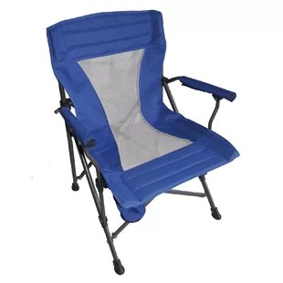 folding chair with cushion golden technologies lift chairs canada wayfair portable camping