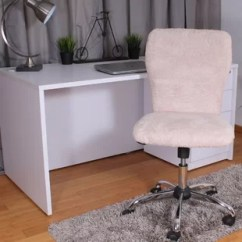 Desk Chair Cover How To Make A For Wedding Faux Fur Wayfair Maxime Office