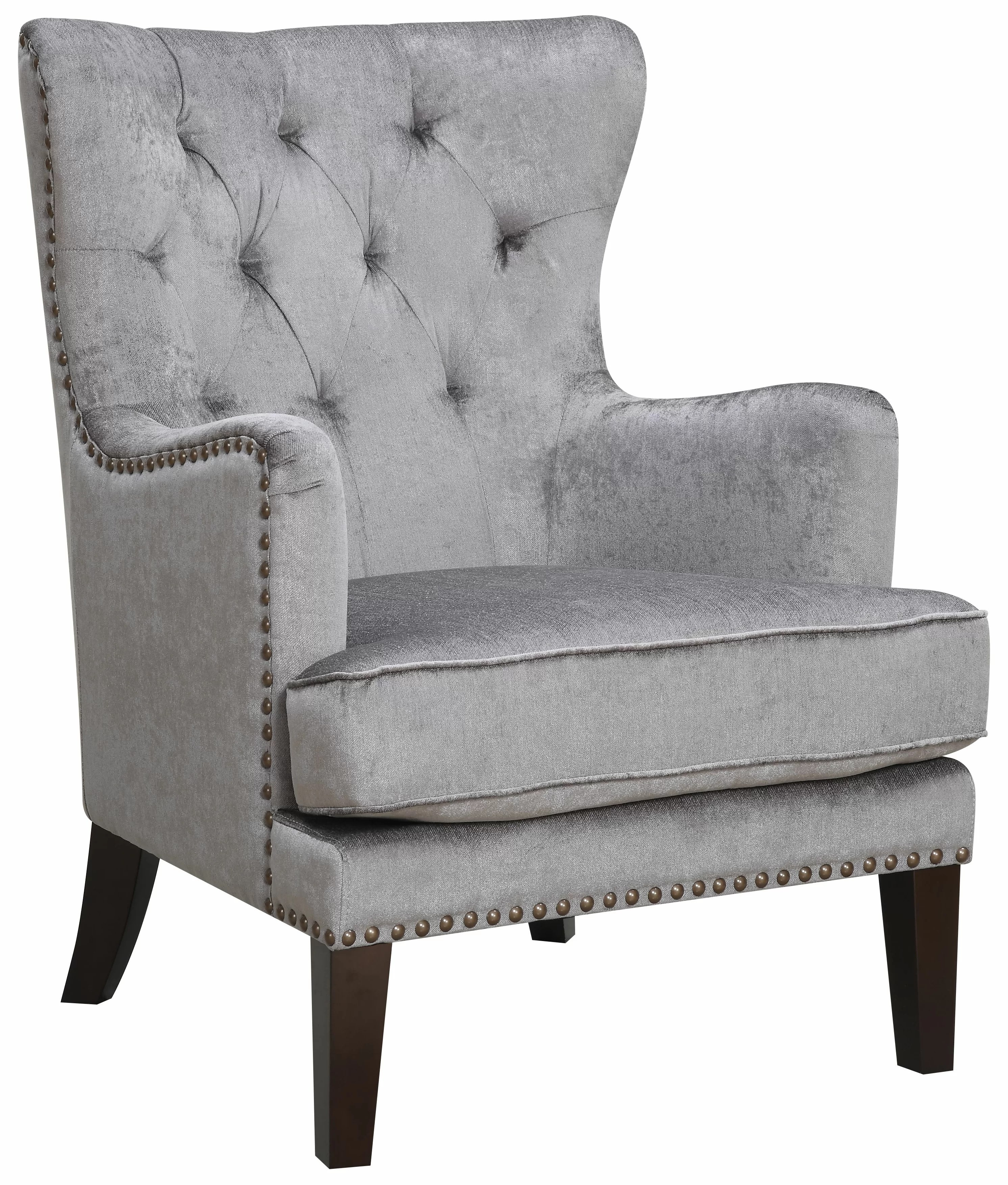 Wingback Tufted Chair Isabella Wingback Chair