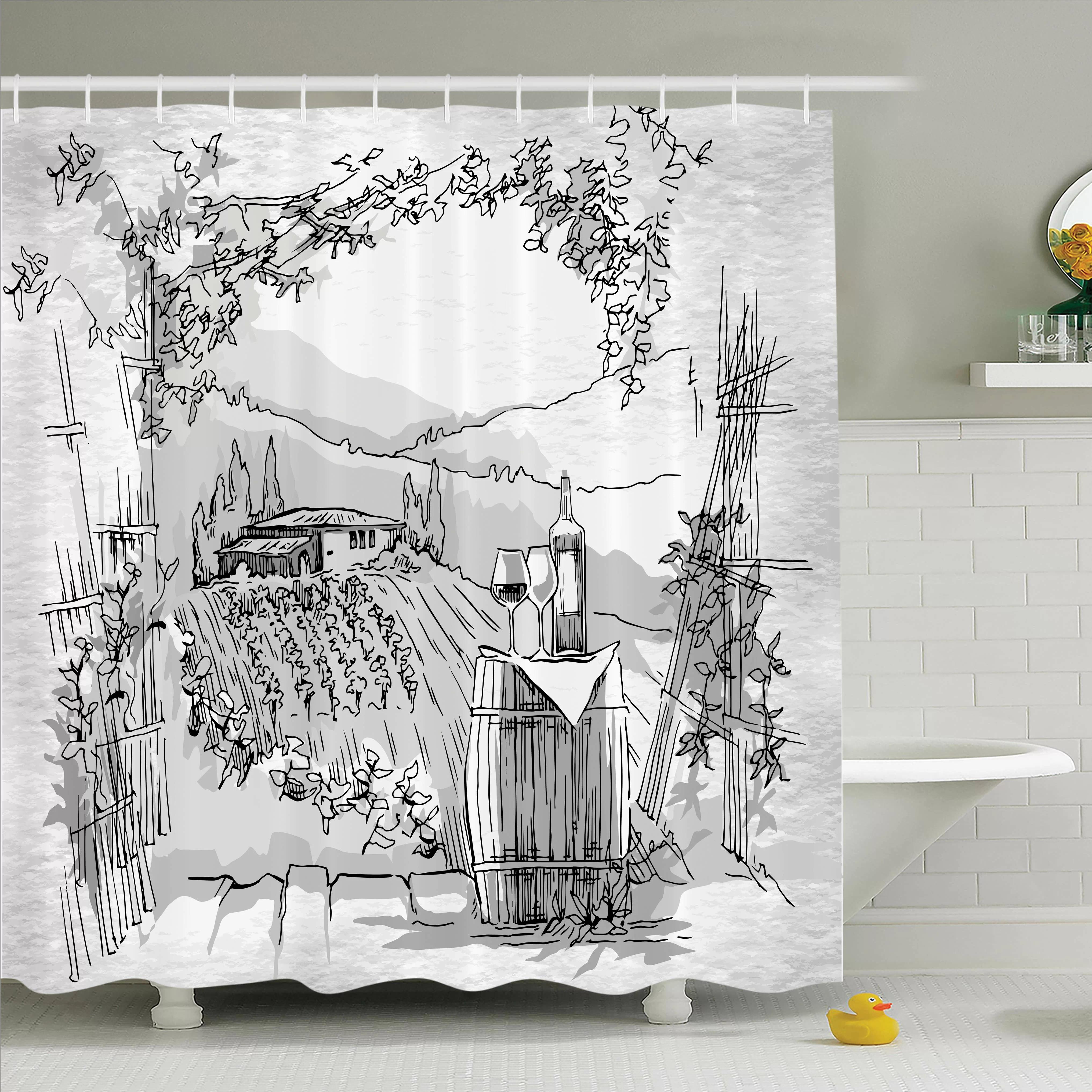 geometic helix swirls shower curtain with hooks bathroom rug set 15 piece set home garden patterer bathroom supplies accessories