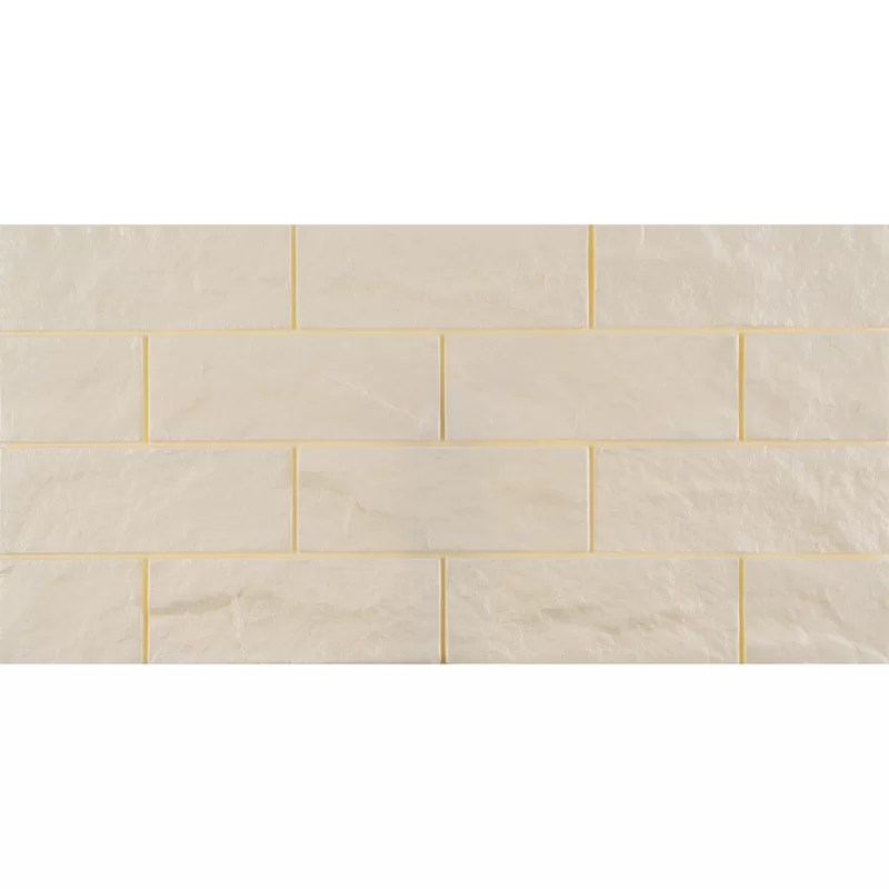 12 x 23 3d foam peel stick subway tile