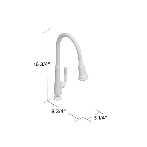 delancey pull down single handle kitchen faucet