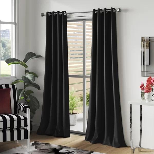 5 piece window curtain sets