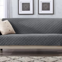 Sure Fit Chair Covers Bed Bath And Beyond Hanging Jysk Navy Sofa Slipcover How To Dye A - Thesofa