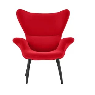 red lounge chair tables and chairs price comfy wayfair quickview