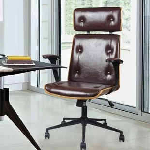 desk chair swivel no wheels antique bentwood high chairs without you ll love wayfair briceno task