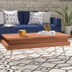Pictures Of Coffee Tables In Living Rooms Wall Decor Ideas For Room Modern Allmodern Quickview