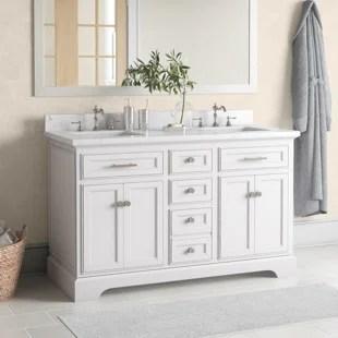 currahee 54 double bathroom vanity set