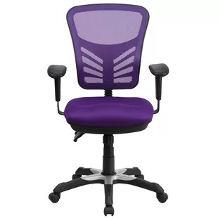 purple task chair navy blue outdoor dining cushions office chairs you ll love wayfair quickview