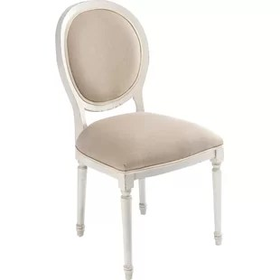 round dining chairs chair for baby shower french back wayfair upholstered set of 2