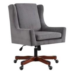 Swivel Desk Chair Without Wheels Mid Century Modern Office Chairs Birch Lane Elwyn Task