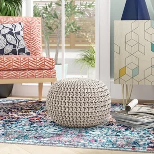 living room pouf factory direct furniture poufs you ll love wayfair quickview