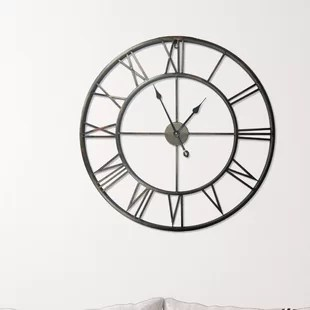 kitchen clocks copper sink wall you ll love wayfair co uk clock